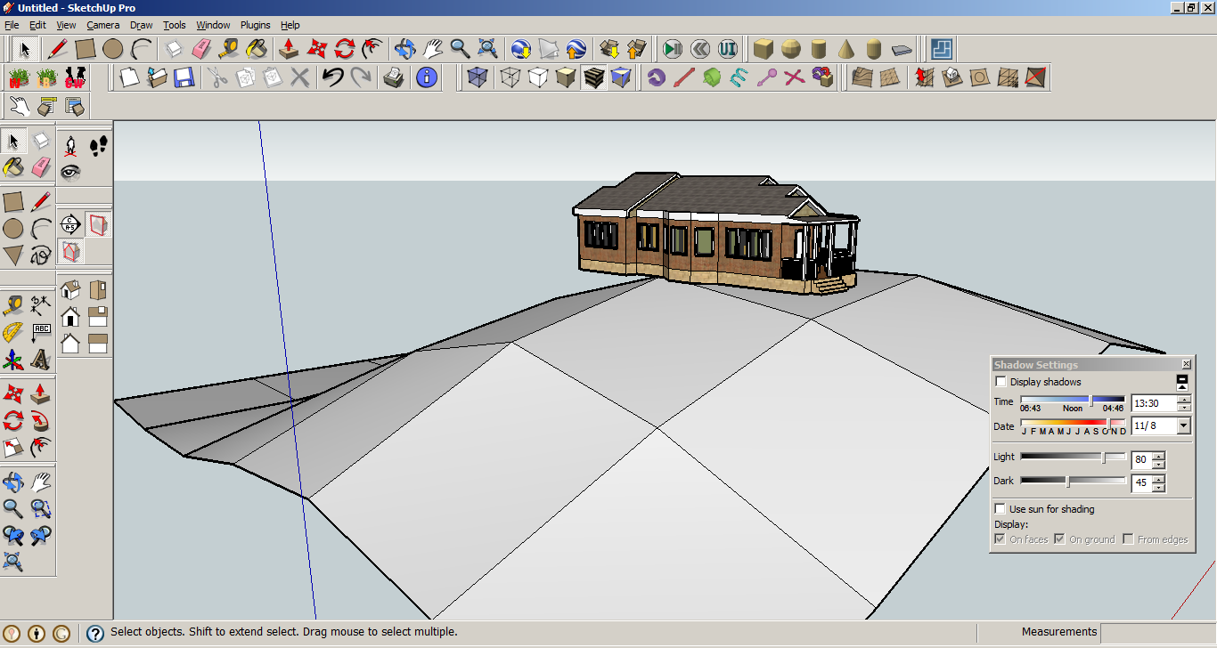 Google sketchup projects - 4