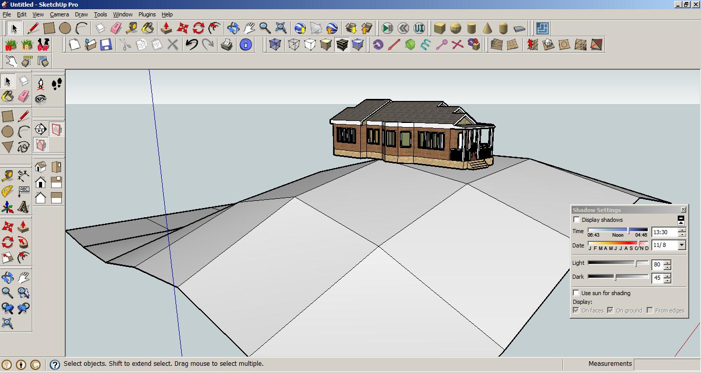 Google sketchup modern houses for Google sketchup converter