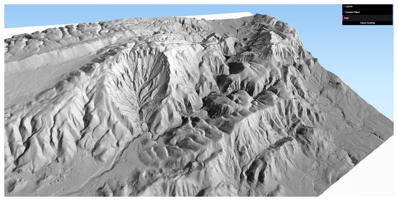 HTML High resolution DTM visualization using Quantum GIS (Qgis
